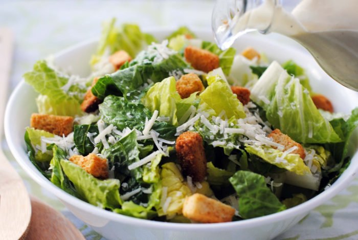The History of Caesar Salad – invented from food leftovers
