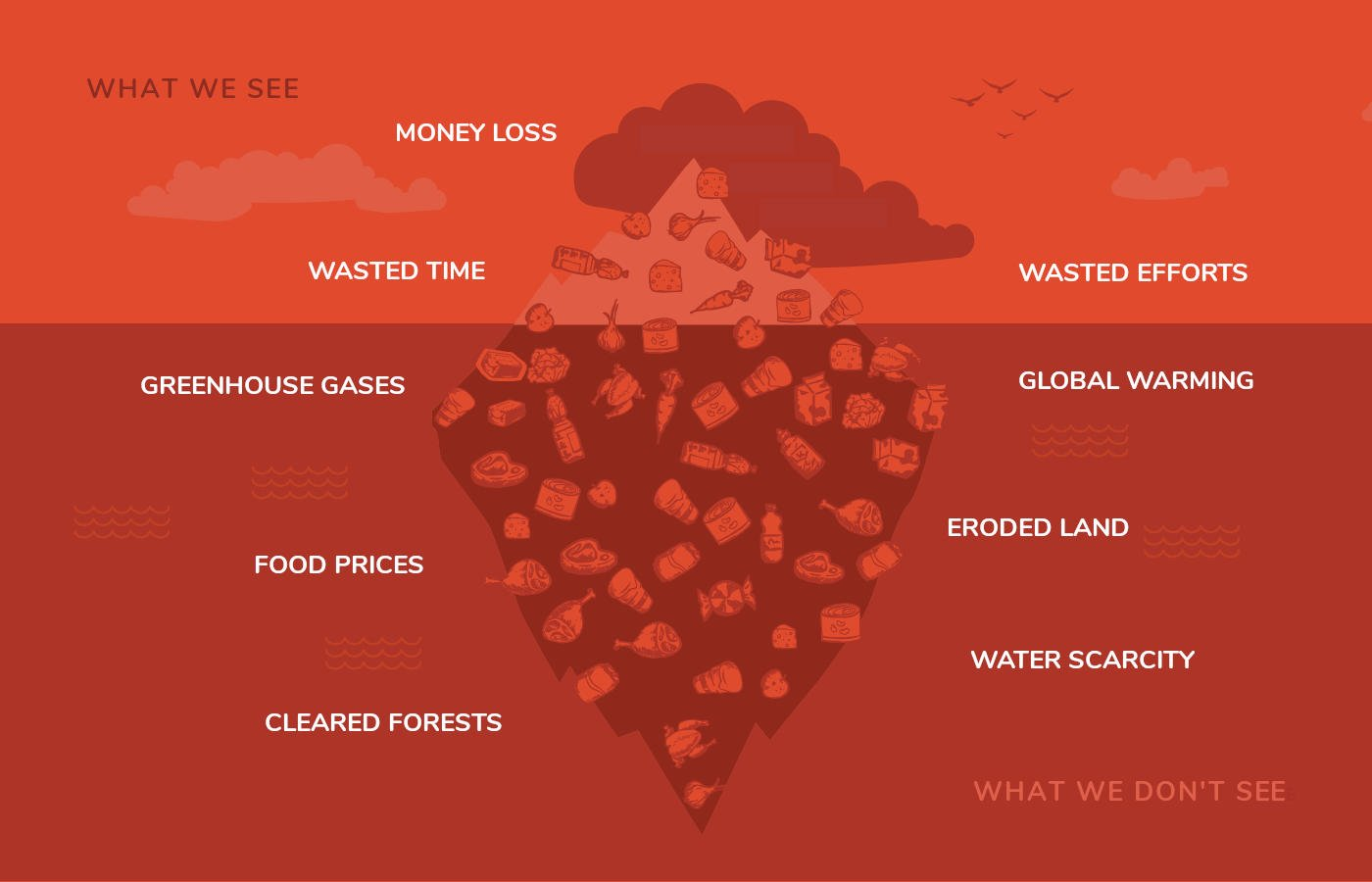 The Food Waste Iceberg