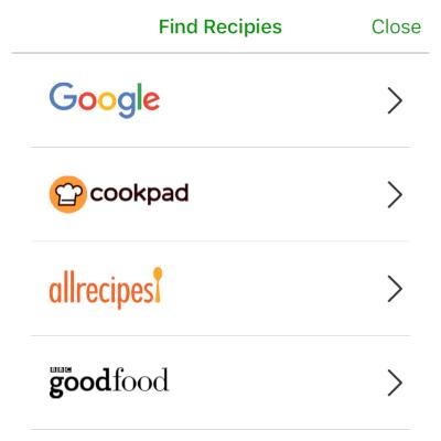 Premium Recipe Finder