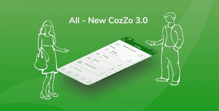 The All-Inclusive Inventory Manager and All-Purpose Shopping Planner Tool. The All-New CozZo 3